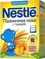 Каша Nestle молочная пшеничная с тыквой с бифидобактериями с витаминами и минералами 6 мес. 250г упак.