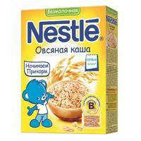Каша Nestle овсяная с бифидобактериями с витаминами и минералами 5 мес. 200г упак.