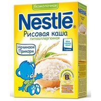 Каша Nestle рисовая с бифидобактериями с витаминами и минералами 4 мес. 200г упак.