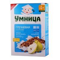 Каша Умница молочная гречневая с грушей 4 мес. 200г упак.