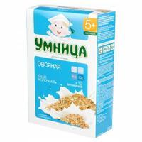 Каша Умница молочная овсяная 5 мес. 200г упак.
