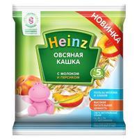 Кашка Heinz мол.овсяная с персиком 5 мес. саше 30г упак.