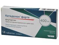 Катадолон Форте таблетки пролонг. действия 400 мг 14 шт.