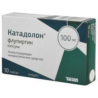 Катадолон капсулы 100 мг, 10 шт.