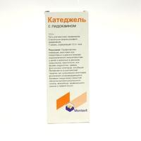 Катеджель с лидокаином шприц 12,5 г, 1 шт.
