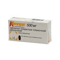 Кеппра таблетки 0.5 г, 30 шт.