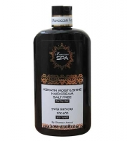 Кератиновый крем Moroccan SPA \'\'увлажнение и блеск\'\' для сухих волос 400 мл