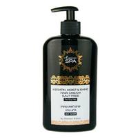 Кератиновый крем Moroccan SPA \'\'увлажнение и блеск\'\' дляповрежденных волос 400 мл