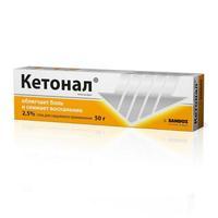Кетонал гель, 50 г