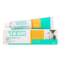 Кетопрофен гель для наружнего применения 2,5% 30 г