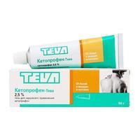 Кетопрофен гель для наружнего применения 2,5% 50 г