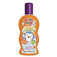 Kids stuff Волшебная пена для ванны, меняющая цвет (из оранжевого в зеленый) 300 мл
