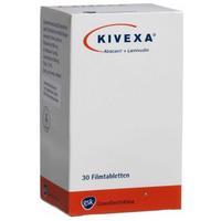 Кивекса таблетки 600 мг+300 мг, 30 шт.