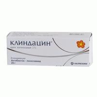 Клиндацин крем вагинальный 20 мг/г, 20 г