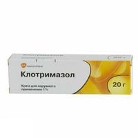 Клотримазол крем 1% , 20 г