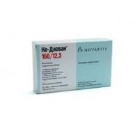 Ко-диован таблетки 160/12,5 мг, 28 шт.
