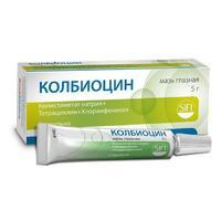 Колбиоцин мазь глазная , 5 г