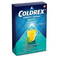 Колдрекс ХотРем ментол и медовый лимон пакетики 5 г 5 шт.