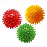 Комплект массажных мячей Kinerapy Massage Ball арт. RH106 унив. компл. 3 шт.