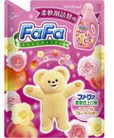 Кондиционер для детской одежды Nissan FaFa с цветочно-фруктовым аром. Series мягкая упак. 2000мл 1 шт.