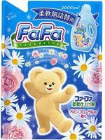 Кондиционер для детской одежды Nissan FaFa с цветочным аром. Series Прикосновение облака мягкая упак. 2000мл 1 шт.