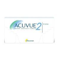 Контактные линзы Acuvue 2 двухнедельные 6 шт / +1.25/8.3/14.0 уп.