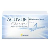 Контактные линзы Acuvue Oasys with Hydraclear Plus +1.25/8.8/14.0 12шт.