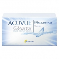 Контактные линзы Acuvue Oasys with Hydraclear Plus +2.25/8.4/14.0 12шт.