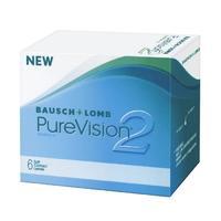 Контактные линзы Bausch + Lomb PureVision2 6 шт / -0.25/8.6/14.0 уп.