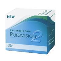 Контактные линзы Bausch + Lomb PureVision2 6 шт / -10.00/8.6/14.0 уп.