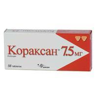 Кораксан таблетки 7.5 мг, 56 шт.