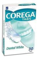 Корега таблетки DENTAL WHITE, 30 шт.