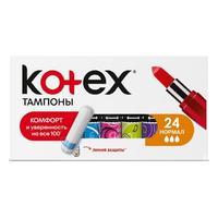 Kotex тампоны нормал 24 шт.