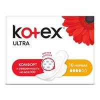 Kotex Ultra Normal прокладки поверхность сеточка 10 шт.