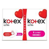 Kotex Ultra Super прокладки поверхность сеточка 16 шт.