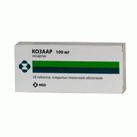 Козаар таблетки 100 мг, 28 шт.