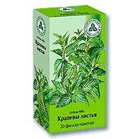 Крапива листья фильтр-пакеты 1,5г №20