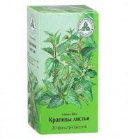 Крапивы листья фильтрпакетики 1,5 г, 20 шт.
