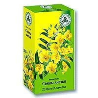 Сенна листья фильтр-пакеты 1,5г №20