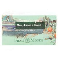 Крем для тела Frais Monde море,апельсин,ягоды 200 мл