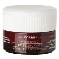 Крем Korres с дикой розой для интенсивного ночного восстановления для всех типов кожи 40 мл