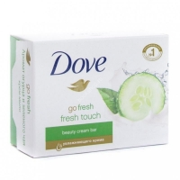 Крем-мыло Дав (Dove) Прикосновение свежести 100г упак.