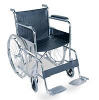 Кресло-коляска Amrus AMRW18P-EL для инвалидов складное с ручным приводом 1 шт.