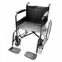 Кресло-коляска Amrus AMTS1903-SF для инвалидов складное с ручным приводом 1 шт.