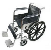 Кресло-коляска Amrus AMWC18FA-SF/E для инвалидов складное с ручным приводом 1 шт.
