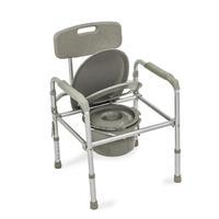 Кресло-туалет Amrus AMCB6808 облегченное со спинкой регулируемое по высоте 1 шт.