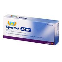 Крестор таблетки 40 мг, 28 шт.