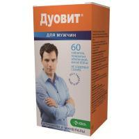 Дуовит для мужчин таб. п/о №60