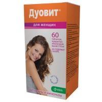 Дуовит для женщин таблетки, 60 шт.