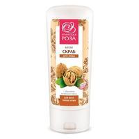 Крымская Роза Крем-скраб для всех типов кожи с абразивом из скорлупы грец. Ореха 100мл